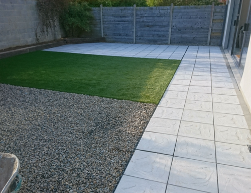 Artificial Grass project in Castletroy