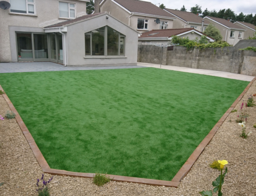 Paving & Artificial Grass Garden Transformation